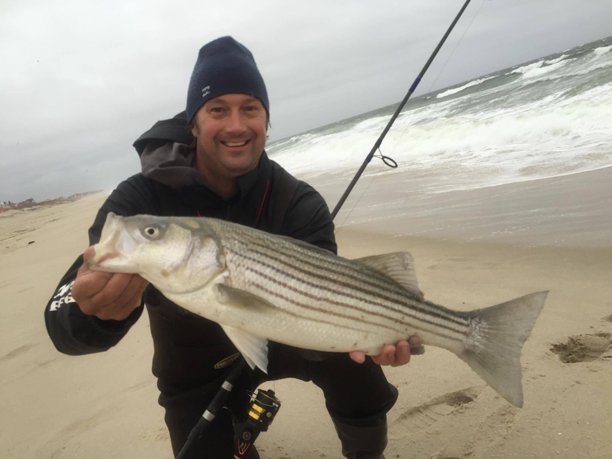 Deen ween fishing show striped bass